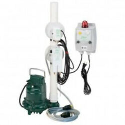 Zoeller 940-0006 Oil Guard Pump Package With Smart Switch Alarm And N152 Pump