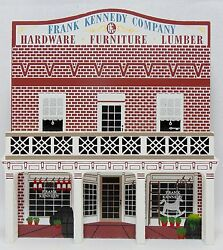 Shelias Collectibles Gwtw General Store Frank Kennedy Co 2 Level Model 1995