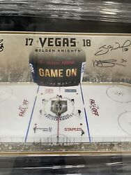 Vegas Golden Knights Inaugural 1st Game Team Signed Autograph Photo 2 Of 25 Made
