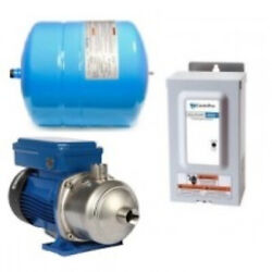 Goulds 1ab25hm03, Booster System With Tank, Outdoor Controller And E-hm Pump