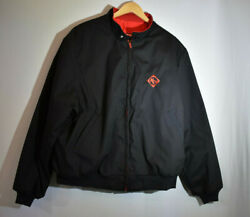 K-products Asgrow Jacket Men's Vintage Usa Black Xxl Nc+ Seed Red Lining