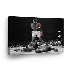 Muhammad Ali Canvas Painting Print Picture Wall Framed Art Modern Room Decor
