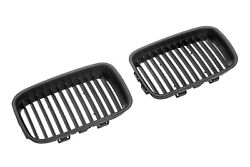 Matte Black Kidney M Euro Sport Front Hood Grill For Bmw 3 Series E36 M3 92-96