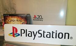 Sony Playstation Display Sony Playstation Aluminum Sign Ps1 Ps One 6x24.