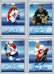 2015-16 Sp Authentic Sign Of The Times Inscribed Dh Dougie Hamilton Auto /40