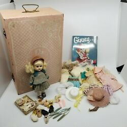 Vintage Antique 1950s Vogue Walking Ginny Doll Bridal Trunk Clothing Book