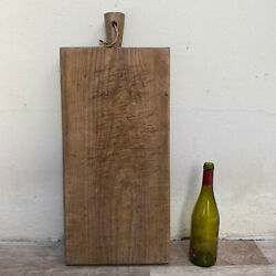 Antique Vintage French Bread Or Chopping Cutting Board Wood Huge 3001213