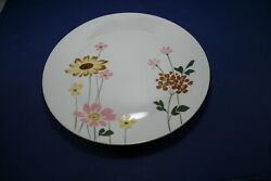 Vintage '60s Sears Sunlight Discontinued China Large 12 7/16 Chop Plate/platter
