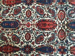 A Must See Antique Collectible Mishin/mishan Malayer Area Rug
