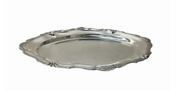 Peruvian Camusso Sterling Silver Serving Tray. Marked