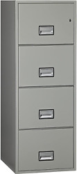 Phoenix Vertical 25 Inch 4-drawer Legal Fireproof File Cabinet With Water Seal