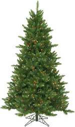 Northlight Pre-lit Northern Pine Full Artificial Christmas Tree With Multicolore