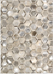 Nourison Ma01mamini City Chic Silver Rectangle Area Rug 8-feet By 10-feet 8and039 X