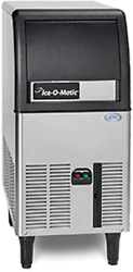New Ice-o-matic 84 Lb/24 Commercial Half Cube Ice Maker Machine Modular Head Air