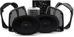 Rockford Fosgate Hd14rk-stage2 Two Speakers Amplifier Kit For Select 2014+ Roa
