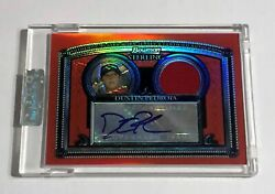 Dustin Pedroia 2005 Bowman Sterling Red Refractor Auto/jersey 1/1 Factory Sealed