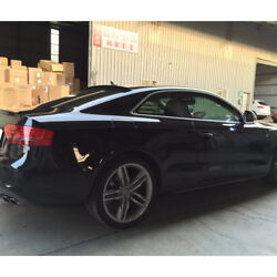 Stock 229 Vro Type Rear Window Roof Spoiler Wing For 200716 Audi S5 Rs5 Coupe