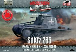 First To Fight 1/72 Sdkfz 265 Panzerbefehlswagen Allemand Command Tank 4