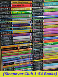 Sleepover Club Series Books - Collection Of 54 New Paperbacks By Sue Mongredien