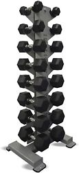 Inflight 8- Pair Vertical Db Rack With A 8 Pair 5-40lb Rubber Free Shipping