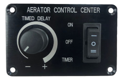 Bargain Marine Boat Aerator Livewell Timer Switch Panel Adjustable Auto 12v 5a