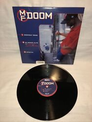 Mf Doom Mf Grimm Mf Vinyl 2lp Singles Rare 2000 Brick Records Vinyl Doomsday