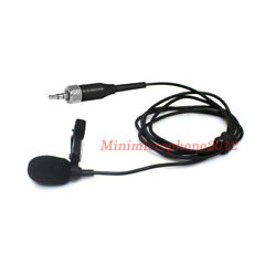 Jpa Black Unidirectional Lapel Lavalier Microphone For Tascam Zoom Sony Recorder
