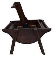 Antique Primitive Washing Machine Quick And Easy Wooden Clothes Washer