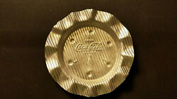 1950and039s Drink Coca-cola Aluminum Ashtray Nos New Old Stock Mint Condition