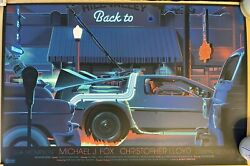 Back To The Future Poster By Laurent Durieux, Mondo Limited Edition Print 85/575