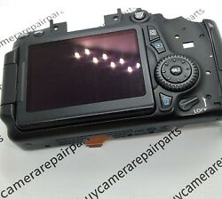 Canon Eos 70d Rear Cover Comp. Inc. Lcd Screen Assand039y Genuine Replacement Part