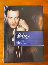 The Jack Lemmon Collection The Apartment, Avanti, Some Like It Hot, New, Sealed