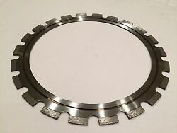 2 Pack 14 Inch Diamond Ring Saw Blade For Concrete Walls
