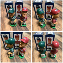 2001 All Star Game American And National Bobblehead Seattle Mariners Safeco Field