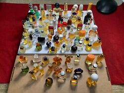 Vintage Miniatures Perfume Collection 94 Full 3 Empty