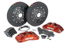 Apr Brk00022 Brakes 380x34mm 2 Piece 6 Piston Kit Front Red Rs3 8v Hatch