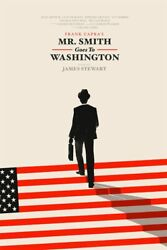 Mister Smith Goes To Washington By Olly Moss - Signed And Numbered- Sold Out Mondo