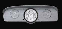 White 1961 1962 1963 1964 1965 1966 Ford F-100 Classic Instruments Gauges Ft61w