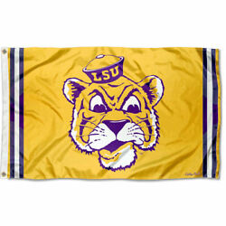 Louisiana State Lsu Tigers Vintage Retro Throwback Large Outdoor Flag