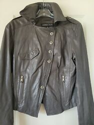 Andrew Marc Leather Jacket Womens XS $30.00