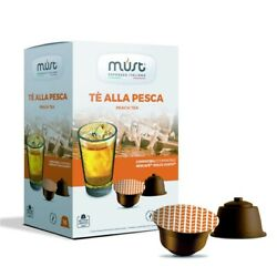 Must Italian for DOLCE GUSTO PEACH tea 16 capsules FREE Ship $15.99