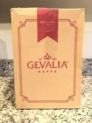New Gevalia Cm-650 12 Cup Programmable Coffee Maker Stainless And Black New In Box