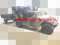 Usmc M105a2 1 1/2 Ton Military Cargo Trailer With Ca Title/plate Reb Jan 2013