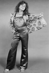 Old Music Photo British Singer Songwriter And Musician Marc Bolan Modelling
