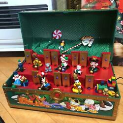 Mickey Mouse Disney Musical Toy Box Chest 1995 Vintage 40cm X 24cm Limited Rare