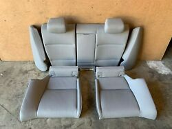 Bmw 2007-2013 E93 E92 Rear Fold Down Back And Bench Seats Gray Leather Oem 65k