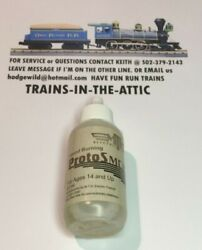 Mth Lionel Smoke Fluid Wood Burning Scent 50ml Better Smoke Output We Use Mth