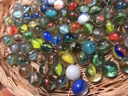 Marbles 675no. Vintage Classic Multi-colour Assorted Catand039s Eye/milky 16mm 5/8