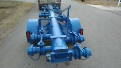 2013 Irrigation Or Fracking Manifold Trailer With 14 Individual Shut Off Valves
