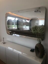 Boeing 737 Window Section Mirror Polished Wall Art